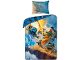 Gear No: 5055285402549  Name: Bedding, Duvet Cover and Pillowcase (140 cm x 200 cm) - Ninjago Sky Pirates