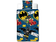 Gear No: 5055285404024  Name: Bedding, Duvet Cover and Pillowcase (135 x 200 cm) - The LEGO Batman Movie 'TEAM HERO!'