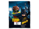 Gear No: 5055285404109  Name: Bedding, Fleece Blanket Polyester (100 x 150 cm) - The LEGO Batman Movie, Team Hero!