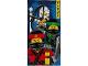 Gear No: 5055285409777  Name: Towel, Ninjago Movie 70 x 140cm