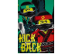 Gear No: 5055285409807  Name: Bedding, Fleece Blanket Polyester (100 x 150 cm) - The LEGO Ninjago Movie, Kick Back