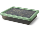 Gear No: 5711938029814  Name: Storage Box S, The LEGO Ninjago Movie, Trans-Black with Sand Green Lid