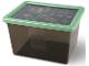 Gear No: 5711938029821  Name: Storage Box, Ninjago, Trans-Black with Sand Green Lid - Large