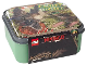 Gear No: 5711938029845  Name: Lunch Box, The LEGO Ninjago Movie, Sand Green