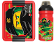 Gear No: 5711938030476  Name: Lunch Box Set, Iconic with Drinking Bottle, Ninjago