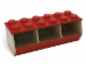 Gear No: 60021  Name: Lego Stacking Bin (Red)