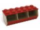Gear No: 60021  Name: Stacking Bin (Red)