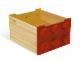 Gear No: 60030  Name: Rolling Storage Box (Red / Yellow)