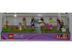 Gear No: 6003545  Name: Display Assembled Minifigs, Friends in Plastic Case