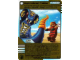 Gear No: 6007959  Name: Ninjago Masters of Spinjitzu Deck #2 Game Card *4 - Hypnobrai Rattle (Golden Card)