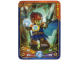 Gear No: 6020982  Name: Legends of Chima Deck #1 Game Card  1 - Laval