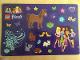 Gear No: 6031634  Name: Sticker, Friends, Sheet of 22