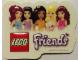 Gear No: 6031636stk01  Name: Sticker for Gear 6031636 - Friends, 3D
