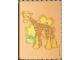 Gear No: 6031646card05  Name: DUPLO Animal Memory Card #5 - Giraffe