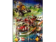 Gear No: 6036116  Name: Legends of Chima Poster (features Cragger's Command Ship and Laval's Royal Fighter)