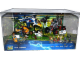 Gear No: 6044219  Name: Display Assembled Set, Legends of Chima Sets 70002, 70003 and 70004 in Plastic Case with Light
