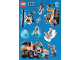 Gear No: 6090637  Name: Sticker, City Arctic, Sheet of 10 Stickers