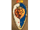 Gear No: 6124616  Name: Shield, Castle Lion Head with 3D Mouth Pattern