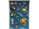Gear No: 6126264  Name: Sticker, City Deep Sea Explorers, Sheet of 10 Stickers