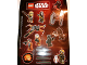 Gear No: 6126910  Name: Sticker, Star Wars Minifigures and Space Ships, Sheet of 15