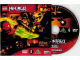 Gear No: 6129463  Name: Video DVD - Ninjago Masters of Spinjitzu 2015