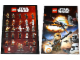 Gear No: 6140653  Name: Star Wars 2015 Rebels Minifigure Gallery / Rey and X-Wing Poster - Double-Sided