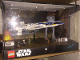 Gear No: 6163539  Name: Display Assembled Set, Star Wars Sets 75153 and 75155 in Plastic Case with Light