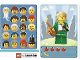 Gear No: 6187179  Name: Community Set 45022 Game Card 10 - Saxophone Player