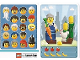 Gear No: 6187182  Name: Community Set 45022 Game Card 11 - Farmer Woman