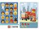 Gear No: 6187202  Name: Community Set 45022 Game Card 21 - Postwoman