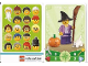 Gear No: 6187225  Name: Education Set 45023 Game Card 04 - Witch