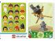 Gear No: 6187235  Name: Education Set 45023 Game Card 10 - Ninja Male