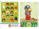 Gear No: 6187241  Name: Education Set 45023 Game Card 14 - Pirate Captain
