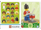 Gear No: 6187246  Name: Education Set 45023 Game Card 19 - Soldier