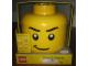 Gear No: 81010b  Name: Sort & Store Minifigure Head - Determined Pattern