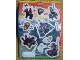 Gear No: 81998  Name: Sticker, Castle, Knights Kingdom I, Sheet of 11