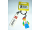 Gear No: 850490  Name: I Brick Chicago Minifigure Key Chain, Water Tower Place LEGO Store, Chicago, IL