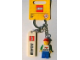 Gear No: 850496  Name: I Brick Anaheim Minifigure Key Chain, Downtown Disney, Anaheim, CA