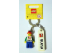 Gear No: 850512  Name: Minifigure Male with Malaysian Flag and 'MALAYSIA' on Front Key Chain with LEGO Tile, Modified 3 x 2 Curved and Tile 2 x 4 with 'MALAYSIA' Pattern