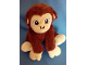 Gear No: 850620  Name: Monkey Plush with Lime Green Brick on Paw