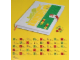 Gear No: 850686  Name: Notebook, Baseplate Cover with Alphanumeric Tiles and Lego Logo Clasp