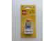 Gear No: 850802  Name: Magnet Set, I Brick Tokyo LEGO Minifigure, Tokyo, Japan - Glued with 2 x 4 Brick Base