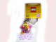 Gear No: 850951  Name: Fairy with Cloth Skirt Key Chain, Pink Wings