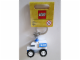 Gear No: 850953  Name: Classic Police Car Key Chain (Bag Charm)