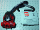 Gear No: 851063  Name: Bionicle Key Chain Mask Kiril with Black Top (Dume)