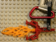 Gear No: 851167  Name: Bionicle Key Chain Hordika Blazer Claw with Carabiner and Bionicle Strap