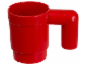 Gear No: 851400  Name: Food - Cup / Mug, Upscaled Mug – Red