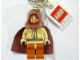 Gear No: 851461  Name: Obi-Wan Kenobi (Episode 3) Key Chain with Lego Logo Tile, Modified 3 x 2 Curved with Hole