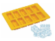 Gear No: 851502  Name: Food - Ice Cube Tray, Bricks (Yellow)