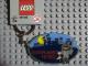 Gear No: 851925  Name: Legoland Hero Metal Key Chain